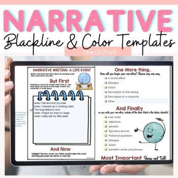 NARRATIVE WRITING INTERACTIVE NOTEBOOK FREEBIE