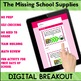 BACK to SCHOOL Activity Digital Breakout