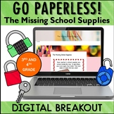 BACK to SCHOOL Activity Digital Breakout