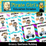 BACK to SCHOOL Groovy Sentence Building