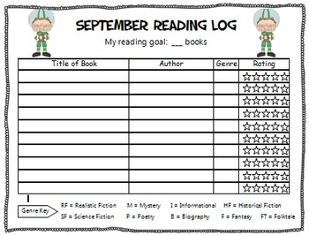 Back to School YEAR LONG SPORTS-THEMED READING ACTIVITY PACKET