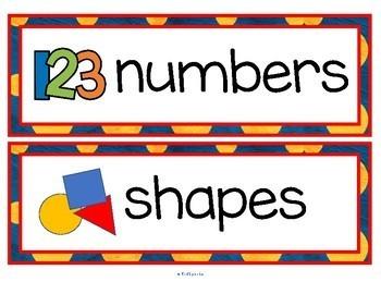 BACK to SCHOOL Vocabulary Center & Group Activities for Preschool & Kindergarten