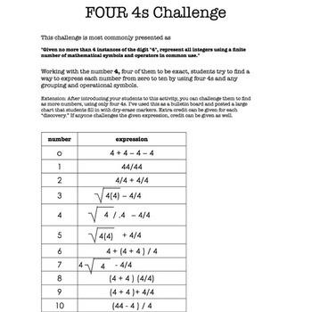 BACK to SCHOOL activities - algebra skills