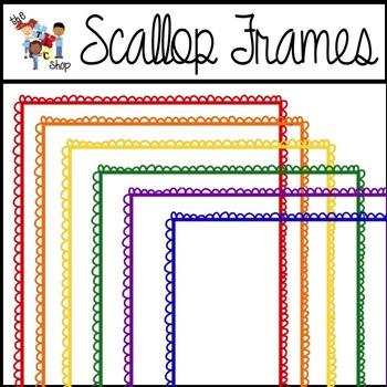 FREE! Scallop Frames