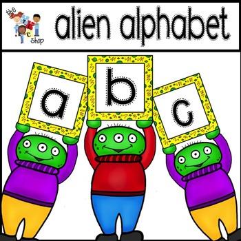 FREE! Alien Alphabet