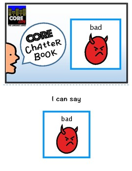 BAD: Interactive CORE City Chatter Book