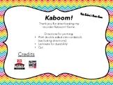 BAG Recorder Kaboom!