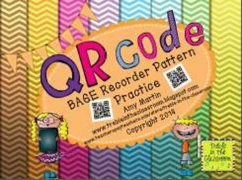 BAGE Recorder QR Code Activities