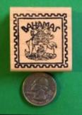 BAHAMAS Country/Passport Rubber Stamp