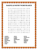 BAKING & PASTRY WORD SEARCH