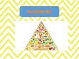 BALANCED DIET Worksheet - life skills