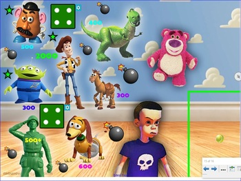BALL THAT BOUNCES - Smartboard Interactive Game