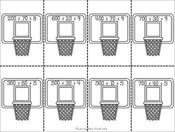 BALLIN' Math Centers for Primary Grades