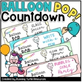 End of Year BALLOON POP Countdown