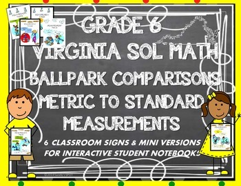 BALLPARK MEASUREMENT CONVERSIONS VIRGINIA SOL GRADE 6