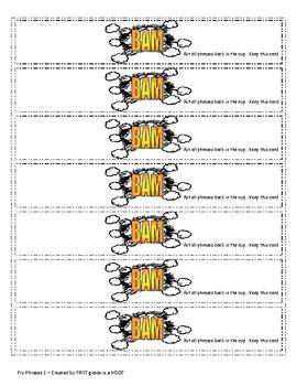 BAM - A Fry Phrase Game - List 3