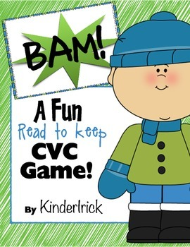 BAM! A Read and Keep CVC Game