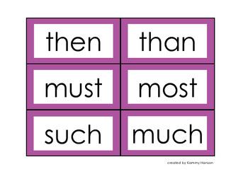 BAM! A Zeno Words Fluency Game