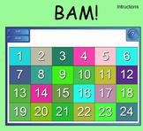BAM - Algebra Question Game