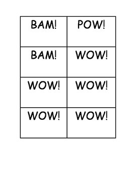 BAM! POW! WOW! Dolch Sight Word Third Grade Practice