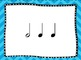 BAM Small Group Rhythm Practice Game (Half, Quarter and Eighth Note Edition)