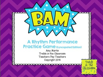 BAM Small Group Rhythm Practice Game (Syncopated Edition)