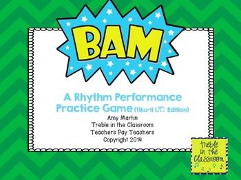 BAM Small Group Rhythm Practice Game (Tika Ti (Sixteenth/Eighth) Edition)