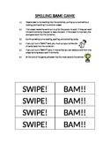 BAM! Spelling game