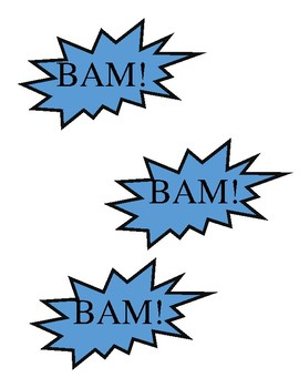 BAM label for game
