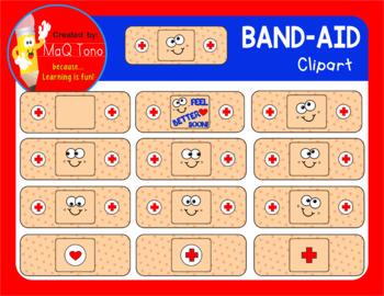 BAND - AID CLIPART