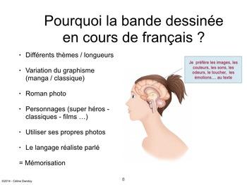 BANDE DESSINÉE EN CLASSE DE LANGUE