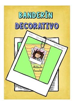BANDERINES DECORATIVOS - Decorative Banners