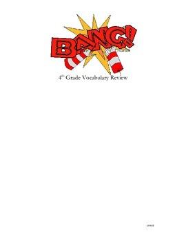 """BANG!"" 4th Grade Common Core ELA Vocabulary Game"