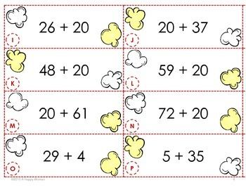 POP! Adding Multiples of 10 and Adding 1-Digit Numbers (1 st Grade)