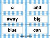 BANG! Game with Dolch Pre-Kindergarten Sight Words
