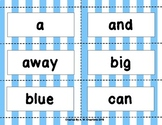 BANG! Game with Dolch Pre-Primer to Third Sight Words BUNDLE