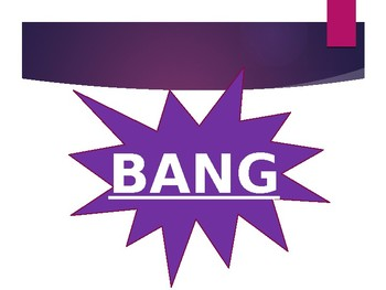 BANG - Letter ID & Sound practice