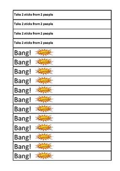 BANG - Multiplication game
