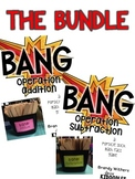 BANG! Popsicle Stick Math Fact Game for Addition & Subtraction Bundle