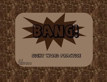 BANG Sight Words game