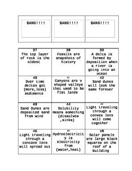 BANG! - 5th Grade Science - TEKS