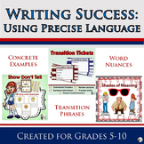 Writing Success: Using Precise Language Bundle
