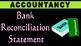 Accounts | BANK RECONCILIATION STATEMENT | BRS