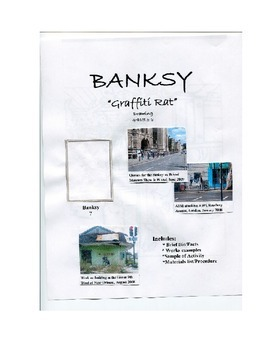 BANKSY (graffiti artist) Art Lesson