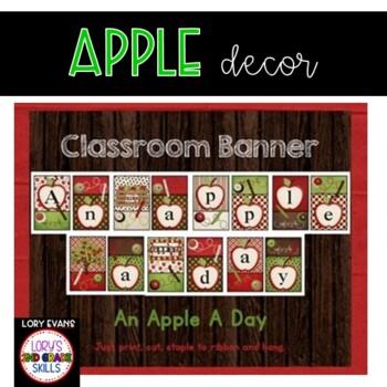 BANNER - An Apple A Day