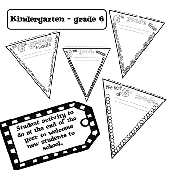 BANNERS  {Back to School and End of the Year}