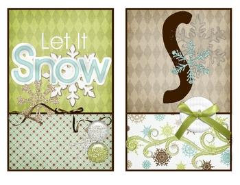 BANNR - Let it Snow Decor