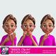 BANZSL Sign Language Clip Art - British, Australian, New Zealand Sign Language