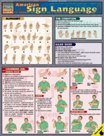 American Sign Language - QuickStudy Guide