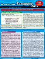 Ccss: Language Arts 6Th Grade - QuickStudy Guide